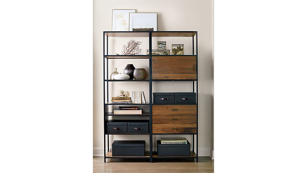 Knox Tall Open Bookcase