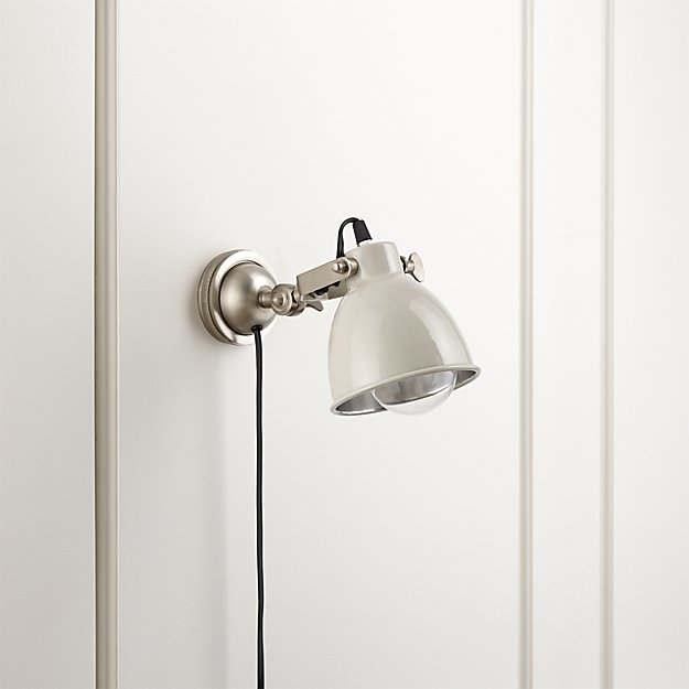 Knox Grey Sconces