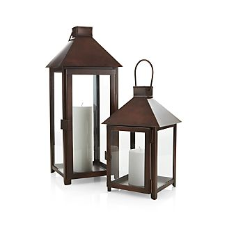 Knox Bronze Metal Lanterns