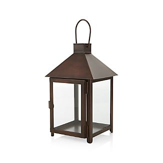 Knox Small Bronze Metal Lantern