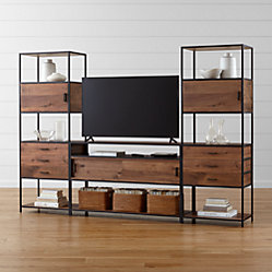 Knox Low Storage Bookcase Crate And Barrel