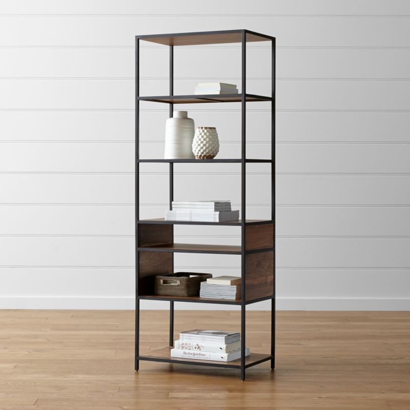 tall open bookshelves 2