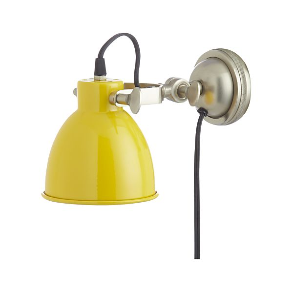 Knox Yellow Sconce