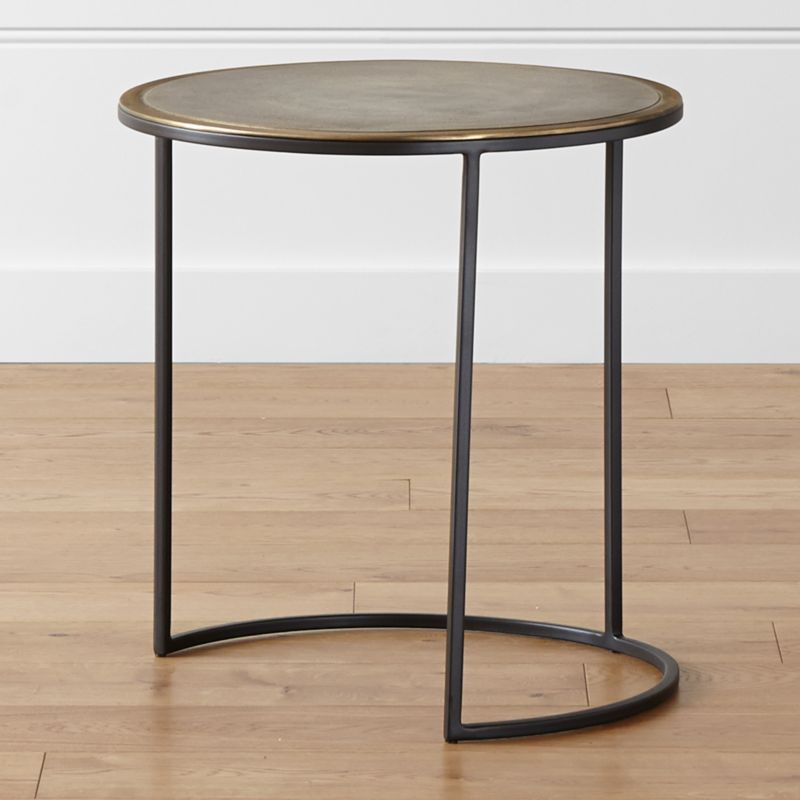 Knurl Large Accent Table