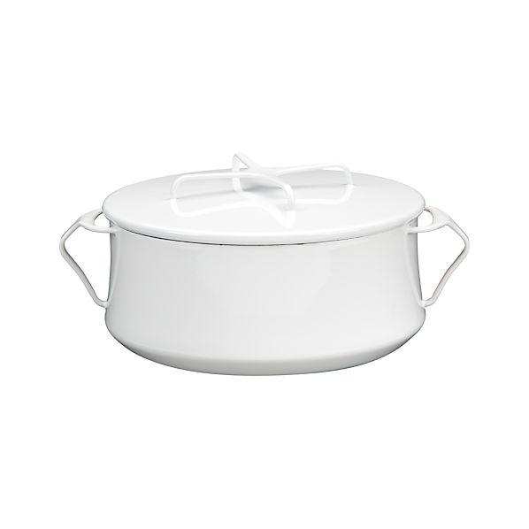Dansk ® Kobenstyle White 4-Quart Casserole Dish