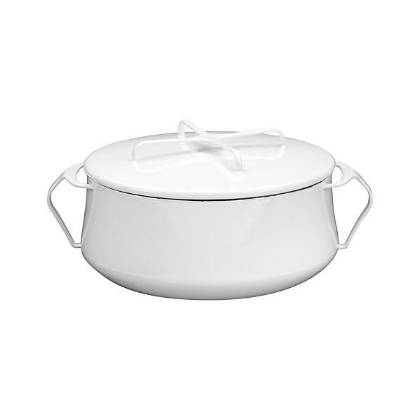 Dansk ® Kobenstyle White 6-Quart Casserole Dish
