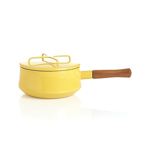Dansk ® Kobenstyle Yellow 2-Quart Sauce Pan