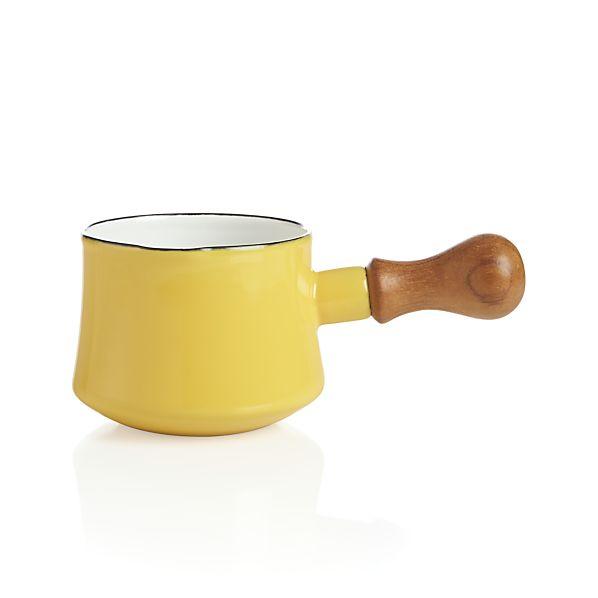 Dansk ® Kobenstyle Yellow Butter Warmer