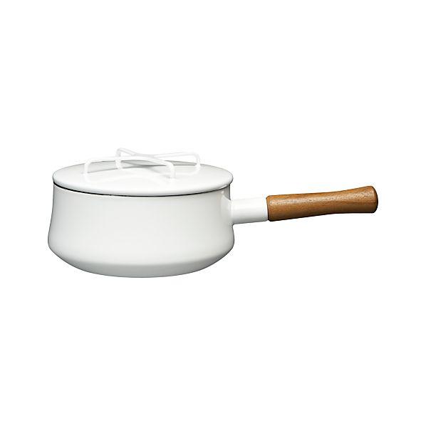 Dansk ® Kobenstyle White 2-Quart Sauce Pan