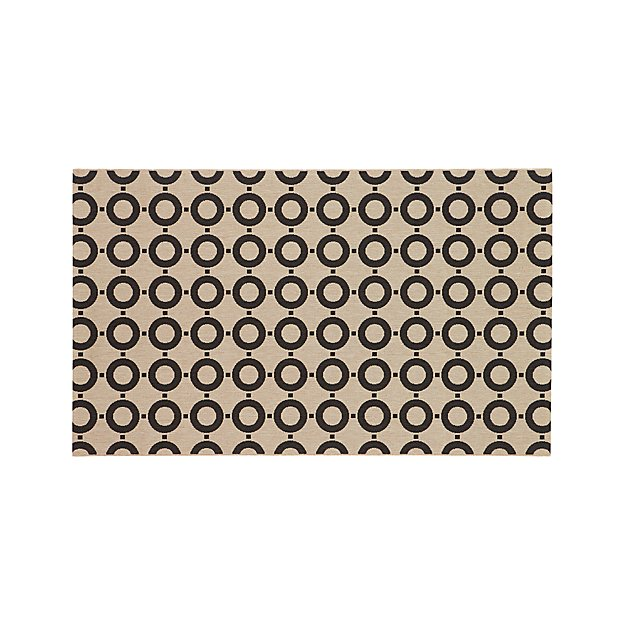 Koen Circles Indoor-Outdoor 5'x8' Rug