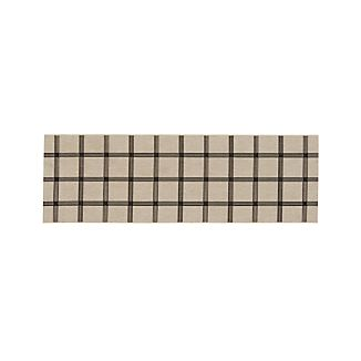 Koen Grid Indoor-Outdoor 2.5'x8' Rug Runner