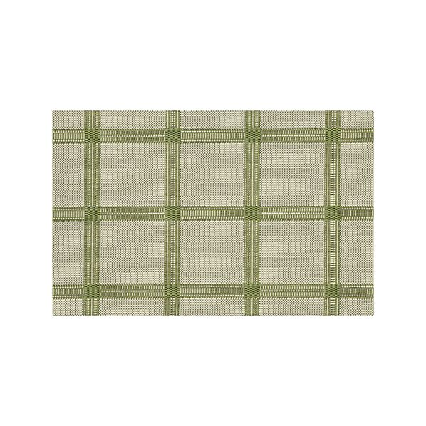 KoenGridGreen2x3RugS16