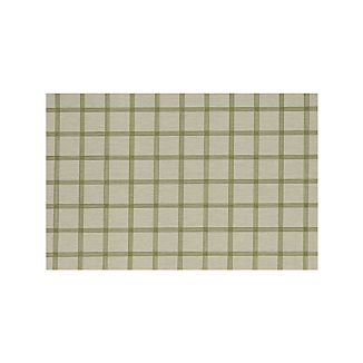 Koen Grid Green Indoor-Outdoor 5'x8' Rug