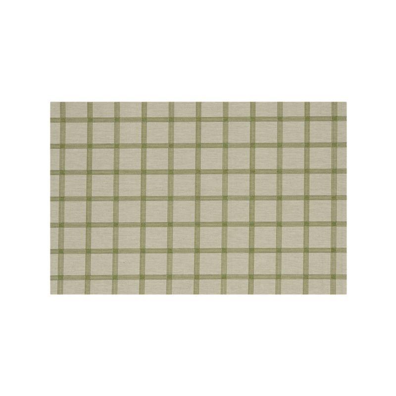 Koen Grid Green Indoor-Outdoor 5'x8' Rug