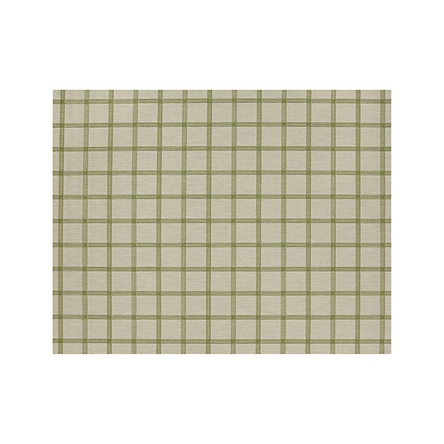 Koen Grid Green Indoor-Outdoor 8'x10' Rug