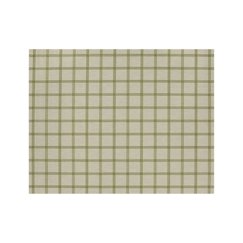 Koen Grid Green Indoor-Outdoor 8'x10' Rug