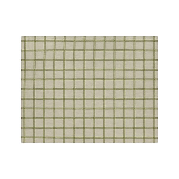 KoenGridGreen8x10RugS16