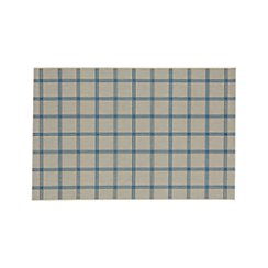 Koen Grid Sky Indoor-Outdoor 5'x8' Rug