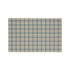Koen Grid Sky Indoor-Outdoor 6'x9' Rug