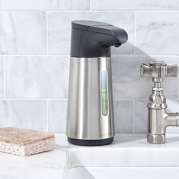 Kohler Touchless Foaming Soap Dispenser Crate And Barrel