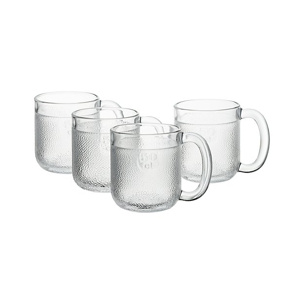 Set of 4 Iittala Krouvi Beer Mugs