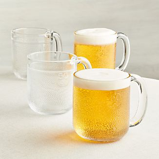 Set of 4 Iittala Krouvi Beer Mugs