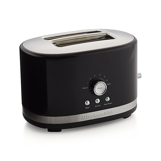 Black Kitchenaid Toaster: KitchenAid ® Onyx Black 2-Slice Toaster
