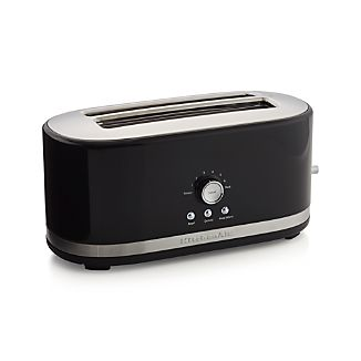 KitchenAid ® Onyx Black 4-Slice Long Slot Toaster