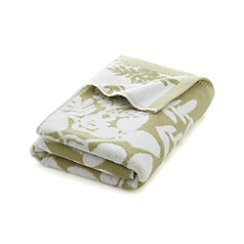 Marimekko Kukkula Green Bath Towel