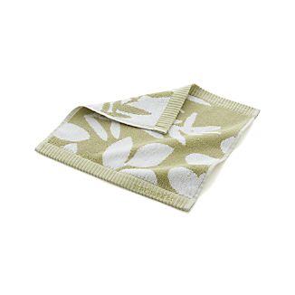 Marimekko Kukkula Green Washcloth