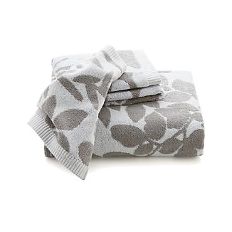 Kukkula Grey Bath Towels