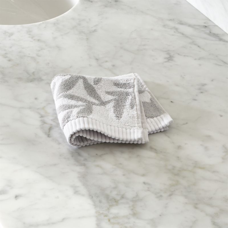Kukkula Grey Washcloth