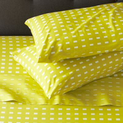 Marimekko Kullervo Citron Full Sheet Set