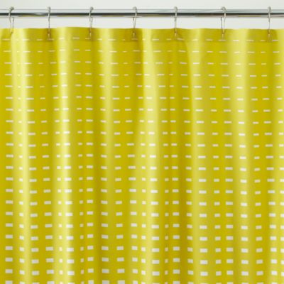 Marimekko Kullervo Citron Shower Curtain