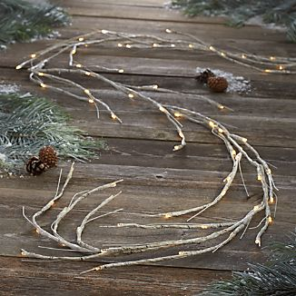 LED 10' Birch Garland