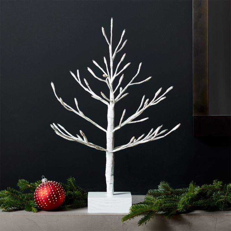 "LED 18"" Birch Tree"