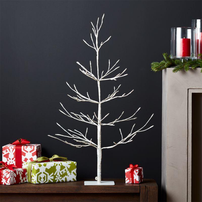 LED 3' Birch Tree