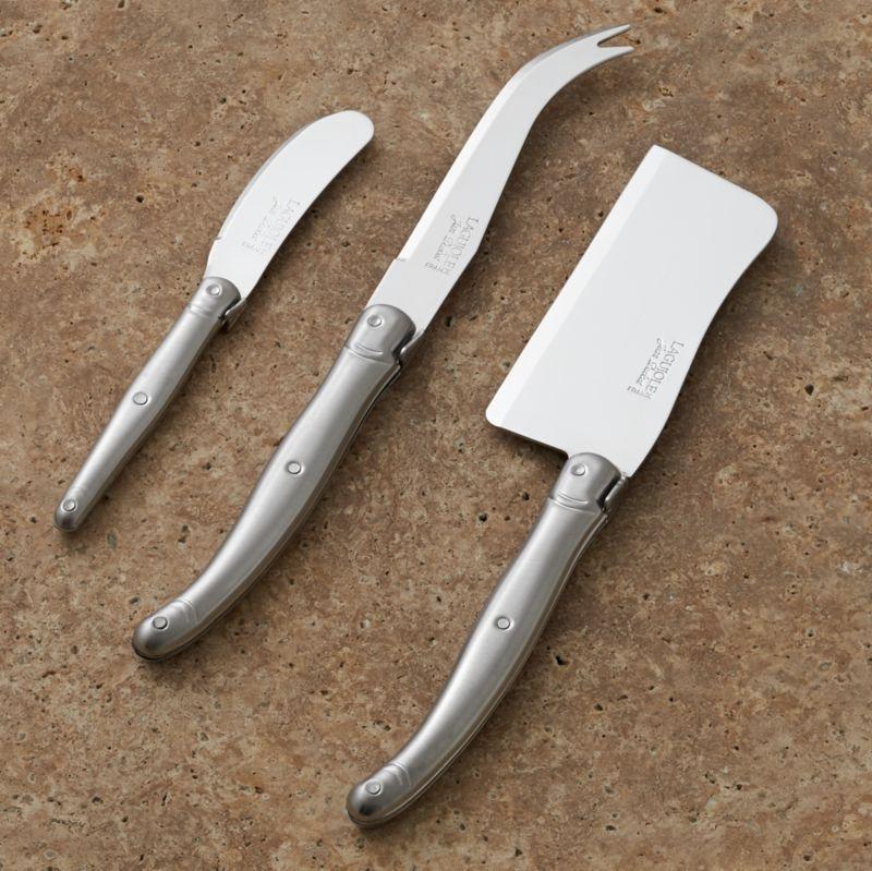 Laguiole ® Cheese Knife 3-Piece Set