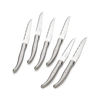 Set of 6 Laguiole ® Stainless Steel Steak Knives