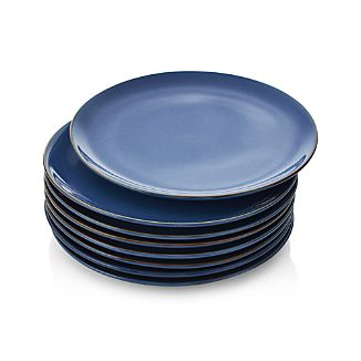 Set of 8 Lake Dinner Plates