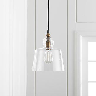 Lander Brass Pendant Light