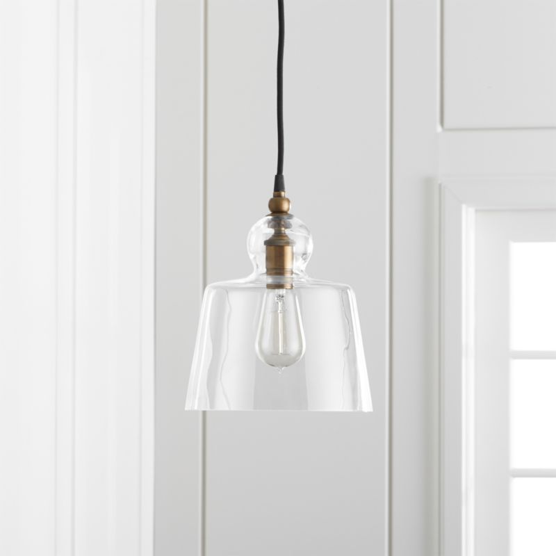 Lander Brass Pendant Light