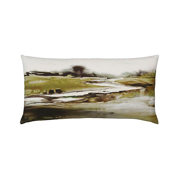 """Landscape 24""""x12"""" Pillow"""