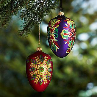 Lara Egg Ornaments
