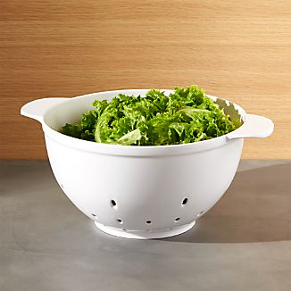 Large White Colander 5.9 qt.