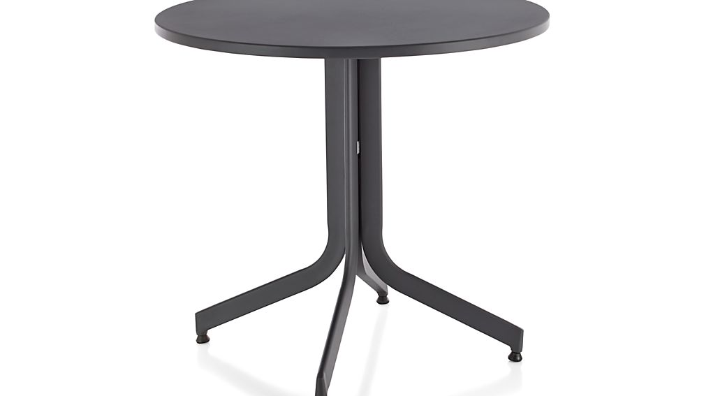 Largo Round Fliptop Dining Table Crate And Barrel