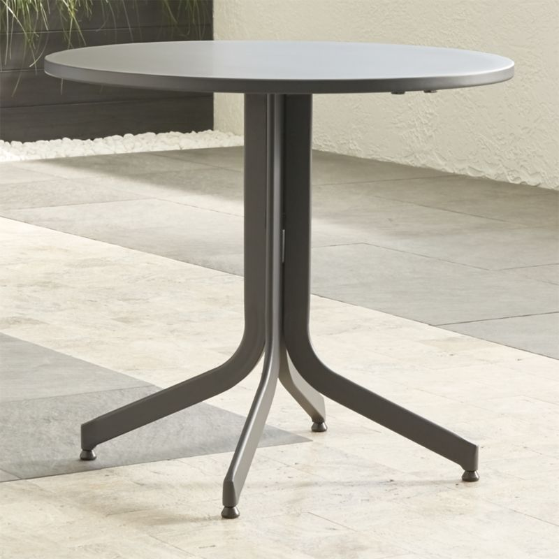 Largo Round Fliptop Dining Table | Crate and Barrel