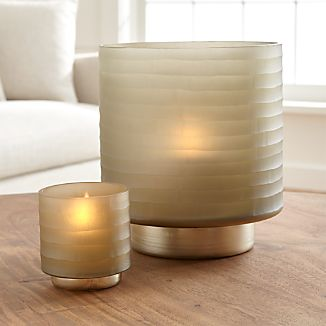 Larissa Hurricane Candle Holders