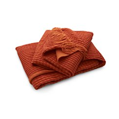 Lark Orange Throw