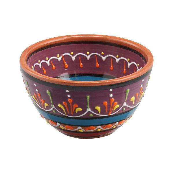 """Las Ramblas 5.25"""" Purple Bowl"""